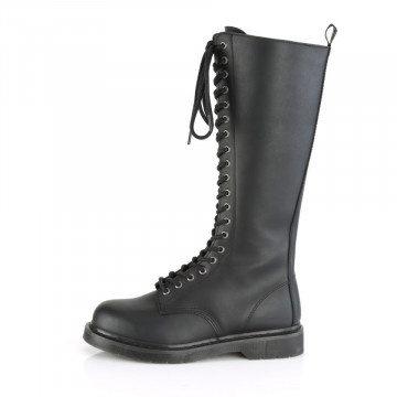 Demonia BOLT-400 Blk Vegan Leather