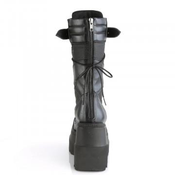 Demonia SHAKER-70 Blk Vegan Leather