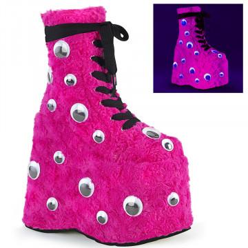 Demonia SLAY-206 H. Pink Fur