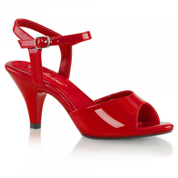 Fabulicious BELLE-309 Red Pat/Red