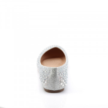 Fabulicious TREAT-06 Slv Glitter Mesh Fabric