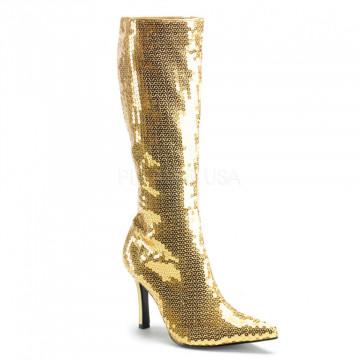 Funtasma LUST-2001SQ Gold Sequins