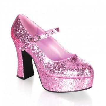 Funtasma MARYJANE-50G B. Pink Gltr