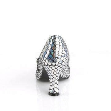 Funtasma MERMAID-70 Silver Hologram Pu