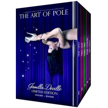 JAMILLA DEVILLE ART of POLE DVD  cofanetto pack