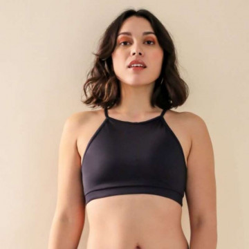 Mademoiselle spin GABY TOP BLACK h 24 ore
