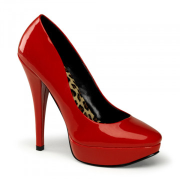 Pin Up Couture HARLOW-01 Red Pat