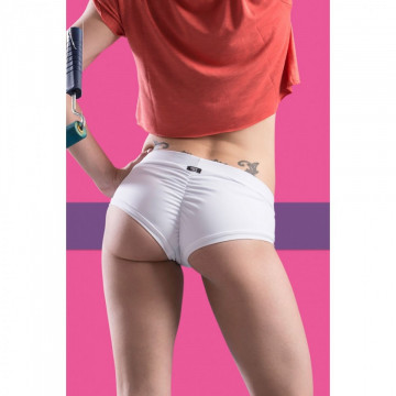 POINT OUT POLE WEAR - VANILLA SHORT SORBET BOTTOM COLLECTION