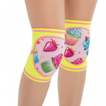 Polecandy Knee Pads Gelato CupCakes Ginocchiere SUbito !!!