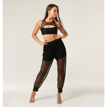 Polerina wear Jogger Pants - Black