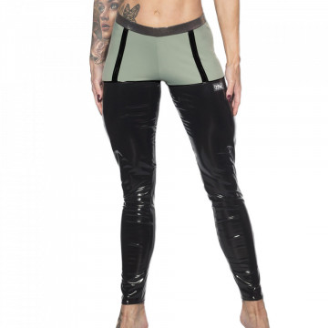 WINK POLE VALENCIA ECO GRIP SUSPENDER LEGGINGS h24 olive