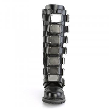 Demonia RIOT-21MP Blk Leather