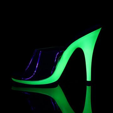 Fabulicious POISE-501UV Clr/Neon Lime