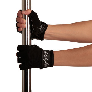 Guanti Grip Mighty Grip poledance Tack NERO