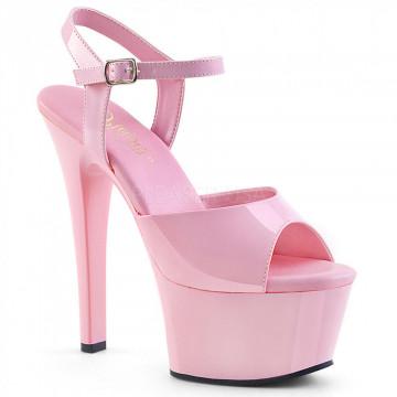 Pleaser ASPIRE-609 B. Pink Pat/B. Pink