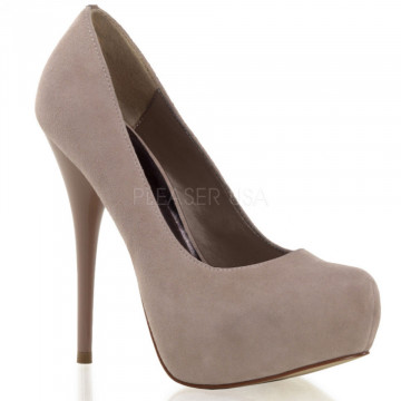 Pleaser Day & Night GORGEOUS-20 Blush Suede