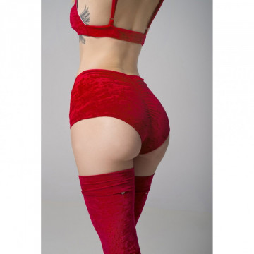 RAD POLE - EVE SHORT RED VELVET in negozio consegna 24 ore