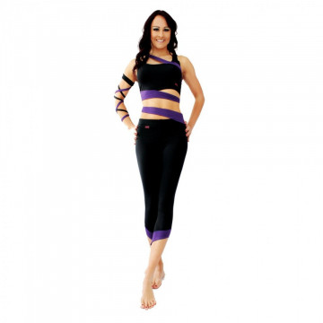 WINK POLE Cropped Leggings