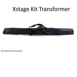X-pole US KIT per Pedana X-STAGE Lite Pali trasformazione BIANCO