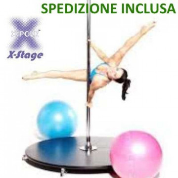 2 x X-pole US Pedana X-STAGE LITE Cromo o Color