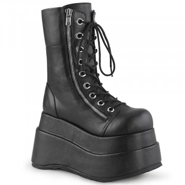 Demonia BEAR-265 Blk Vegan Leather