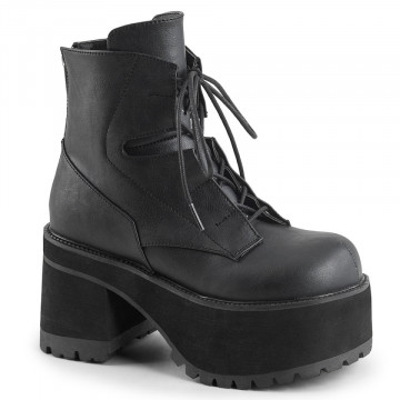 Demonia RANGER-102 Blk Vegan Leather