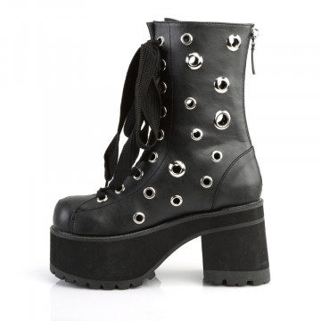 Demonia RANGER-310 Blk Vegan Leather