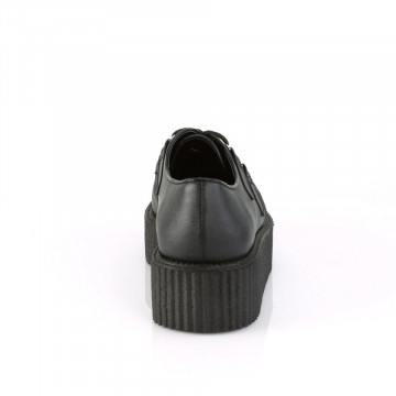 Demonia V-CREEPER-515 Blk Vegan Leather
