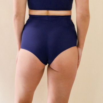 MADEMOISELLE SPIN - FATALE SHORTS BLEU NUIT