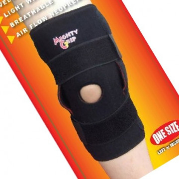 Mighty Grip Mighty Grip Stabilized Hinged Tutore per ginocchio