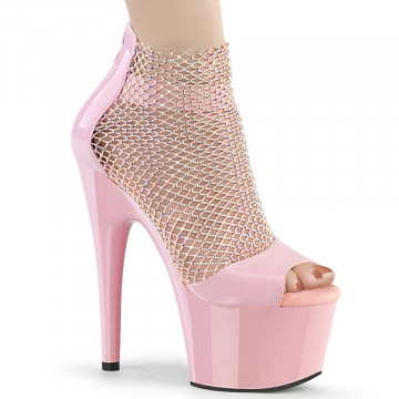 Pleaser ADORE-765RM B. Pink Pat-RS Mesh/B. Pink