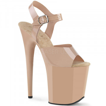 Pleaser FLAMINGO-808N Cream (Jelly-Like) TPU/Cream