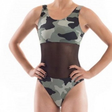 Point Out Body aeiral e atletica Cybele Leotard H24