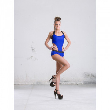 POINT OUT  COMPLETO BODY Sapphire Leotard
