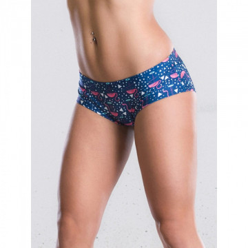 POINT OUT POLE WEAR - FLAMINGO SHORT
