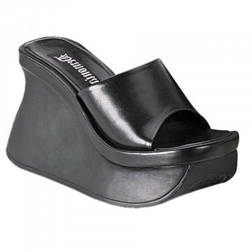Demonia PACE-01 Blk Vegan Leather