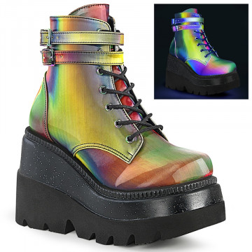 Demonia SHAKER-52 Rainbow Reflective