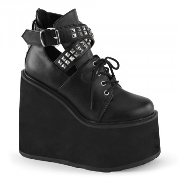 Demonia SWING-05 Blk Vegan Leather