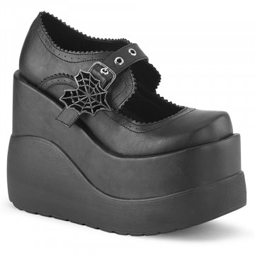 Demonia VOID-38 Blk Vegan Leather