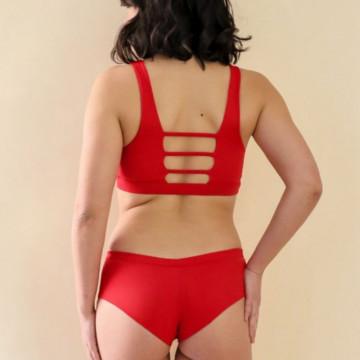 MADEMOISELLE SPIN - BODY VERTIGE nero o rosso