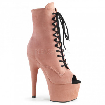 Pleaser ADORE-1021FS B. Pink Faux Suede/B. Pink Faux Suede