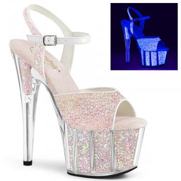 Pleaser ADORE-710UVG Neon Opal Glitter/Neon Opal Glitter