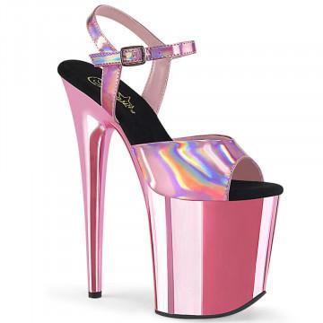 Pleaser FLAMINGO-809HG B. Pink Hologram/B. Pink Ch