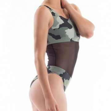 Point Out Body militare aeiral e atletica Cybele Leotard