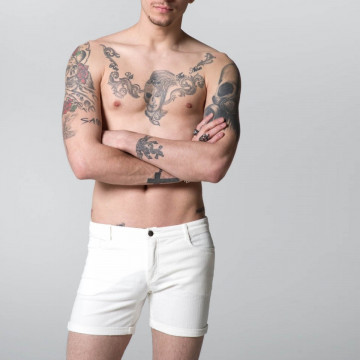 RAD WEAR ALEX SHORT WHITE L SUBITO