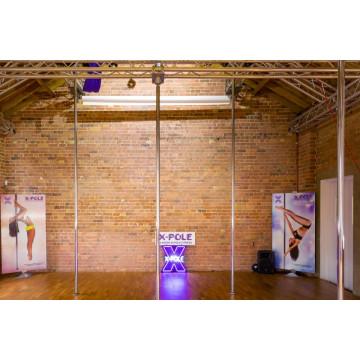 X-Pole PCX Studios Palo per palestre 2 pezzi rinforzato fino 4,2mt