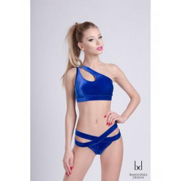 Bandurska Design - Blue Velvet Top