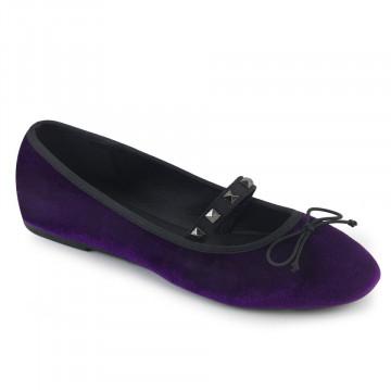 Demonia DRAC-07 Purple Velvet