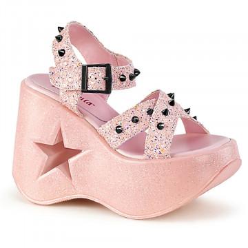 Demonia DYNAMITE-02 Baby Pink Glitter