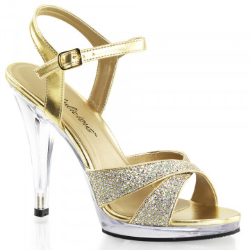 Fabulicious FLAIR-419(G) Gold Multi Glitter/Clr